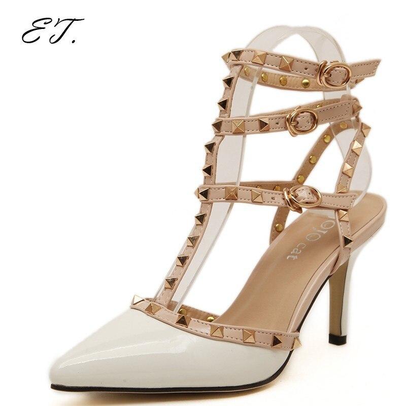Schön New Arrival Valentine Shoes Women Rivets Sexy Pumps High Heels Ladies Shoes