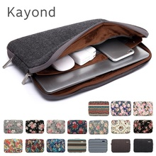 Kayond Brand Laptop Bag 11,12,13,14,15,15.6,17 inch,Lady Man Sleeve Case For MacBook Air Pro 13.3,15.4 Compute Notebook,Dropship