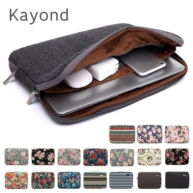 """2019 New Brand Kayond Sleeve Case For Laptop 11,12,13,14,15"""",15.6"""",17 inch,Bag For MacBook Air Pro 13.3"""",15.4 Free Drop Shipping"""
