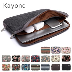 2020 New Brand Kayond Sleeve Case For Laptop 11,12,13,14,15,15.6,17 inch,Bag For MacBook Air Pro 13.3,15.4 Free Drop Shipping