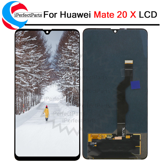 Original New For Huawei mate 20X  LCD Display Touch Screen Digitizer Assembly Replacement parts For HUAWEI mate 20 X 7.2 LCD