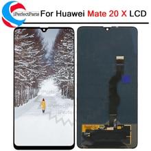 Oryginalny nowy dla Huawei mate 20X wyświetlacz LCD ekran dotykowy Digitizer zgromadzenie części zamienne do HUAWEI mate 20X7.2 LCD
