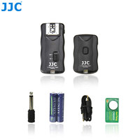 JJC 2.4GHz 100 Meters Wireless Remote Control Flash Trigger Kit 16 Channels Speedlight Controller for Canon/Nikon/Sony/Olympus