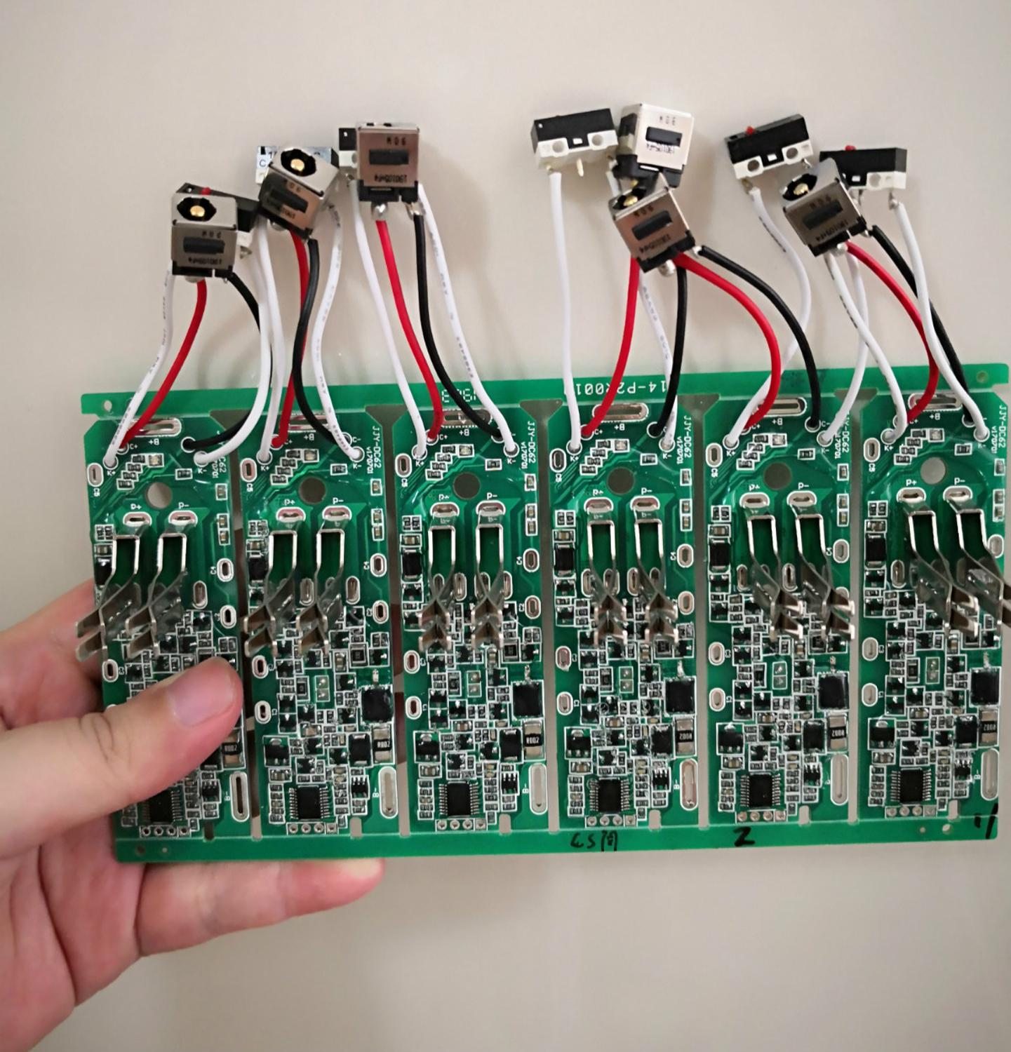 Battery Protection Board PCB Board For Dyson V6 Without Charge Socket And Switches
