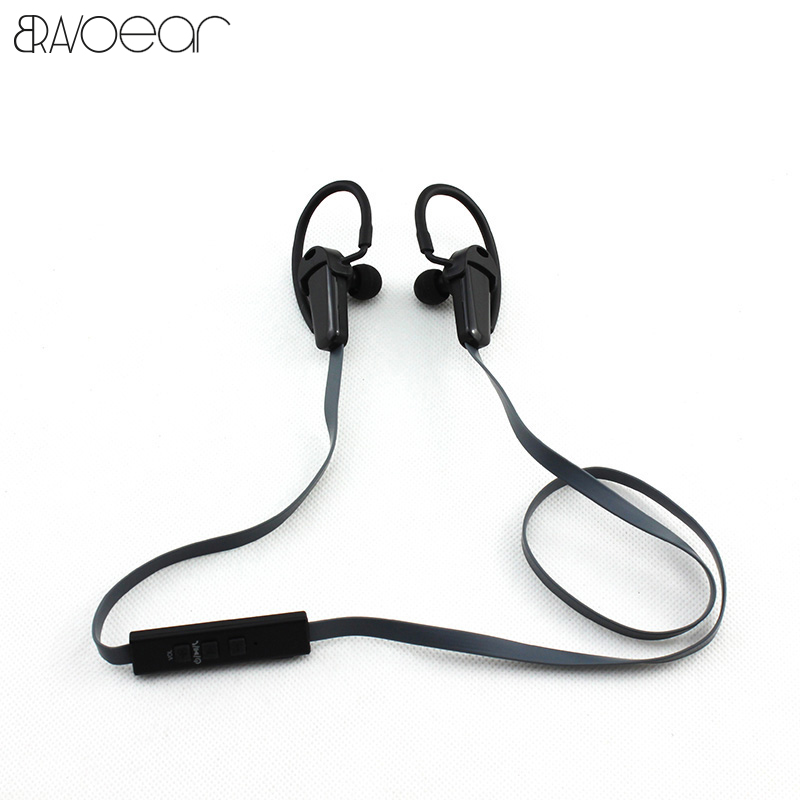 Sports Wireless Bluetooth Earphone Anti-sweat Metal Headset Earbuds Earphones with Mic In-Ear for iPhone SmartPhones  hjcf b1 sports wireless bluetooth earphone wireless headset earbuds earphones with microphone in ear for iphone smartphones