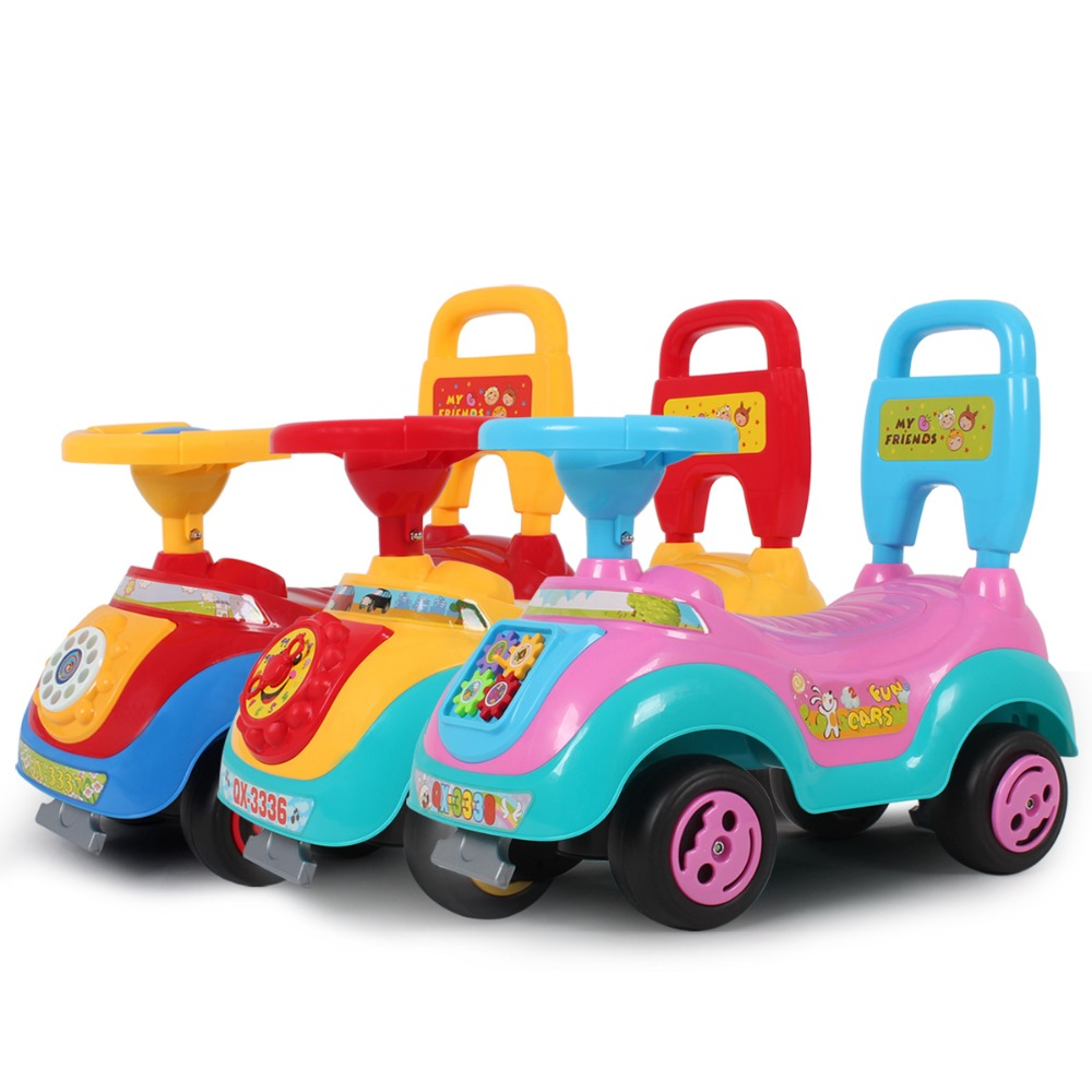 Toy Trucks For Four Year Old Boys : Child car baby walker years old toys scooter