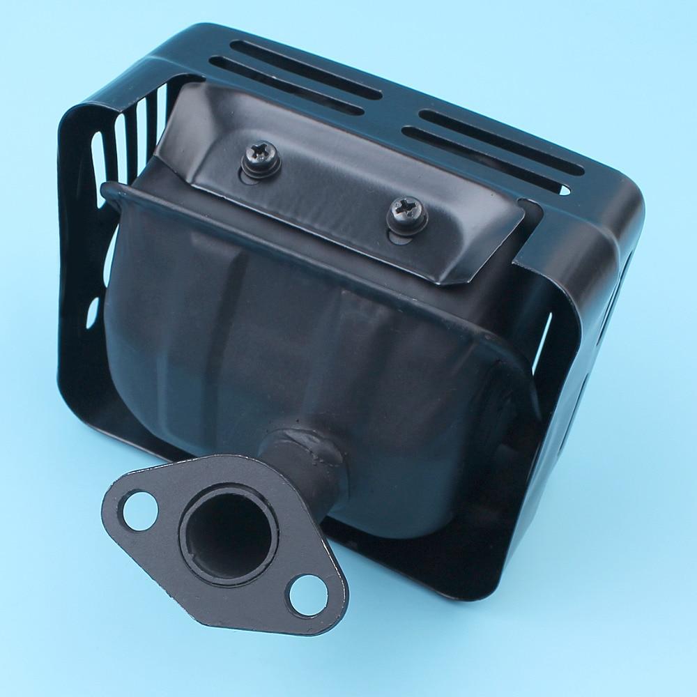 Tools : Muffler Exhaust Silencer System w  Heat Shield For Honda GX120 GX160 GX200 5 5 HP 6 5 HP 168F Engine Motor Generator Water Pump