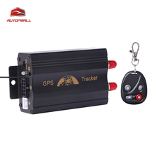 GPS Tracker TK103B Remote Control GPS103B Geo-fence Over Speed Alarm Accident Alarm Cut Oil Power Can Voice Monitoring