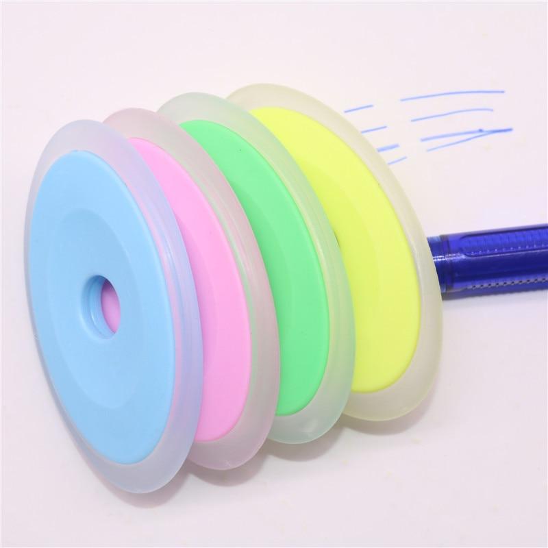 5-10 Pcs Mix Send Elliptical Plastic Eraser Neutral Erasable Pen Special Eraser  5
