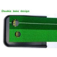 High quality 2.5m 3m Ball Return Pratice Putter indoor golf green Putting Mat