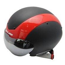 GUB Bicycle Helmet Cycling Helmet Ultralight Integrally-molded MTB Road Bike Helmet goggles tt helmet With Magnetic UV Visor