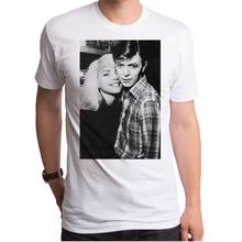 73c9c614 Brand Style Short Sleeve Official David Bowie & Debbie Harry Of Blondie  Young Photo Picture T-shirt Top