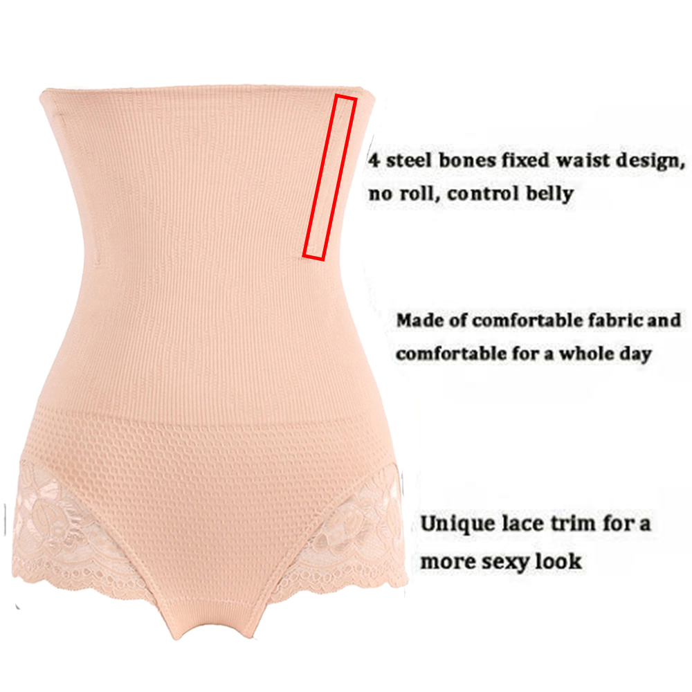 Miss Moly Women Hight Waist Shaper Control Panty Sexy Butt Lifter Underwear Waist Trainer Body Shaper Shapewear Cincher in Control Panties from Underwear Sleepwears