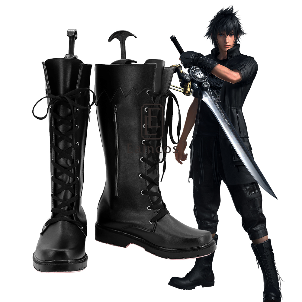Game Final Fantasy XV Noctis Lucis Caelum Cosplay Shoes Halloween Carnival Boots Custom made