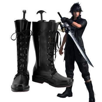 Game Final Fantasy XV Noctis Lucis Caelum Cosplay Shoes Halloween Carnival Boots Custom-made - Category 🛒 Novelty & Special Use
