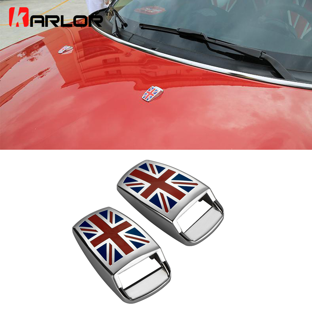 CLUBMAN R55//COOPER R56//CABRIOLET R57 Stainless Steel Chrome Mirror Cover 2 Pieces