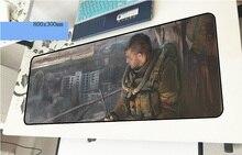 Stalker геймерский коврик для мыши Domineering 800x300x3 мм игровой коврик для мыши профессиональные аксессуары для ноутбука padmouse эргономичный коврик
