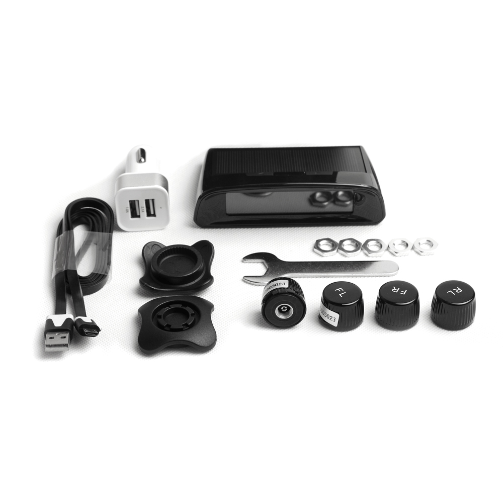 PA LED 1 SET x Professional Energy Car External Sensor Dual Power Solar Wireless Tire Pressure Monitoring System TPMS kitaplsw222cox01761ea value kit amplivox wireless audio portable buddy professional group broadcast pa system aplsw222 and clorox disinfecting wipes cox01761ea