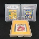SONGFINN Pokemoned Series Cock Version/Trading Card Game/Orange etc. English Language Game Cartridge for 32 Bit Game Console ...