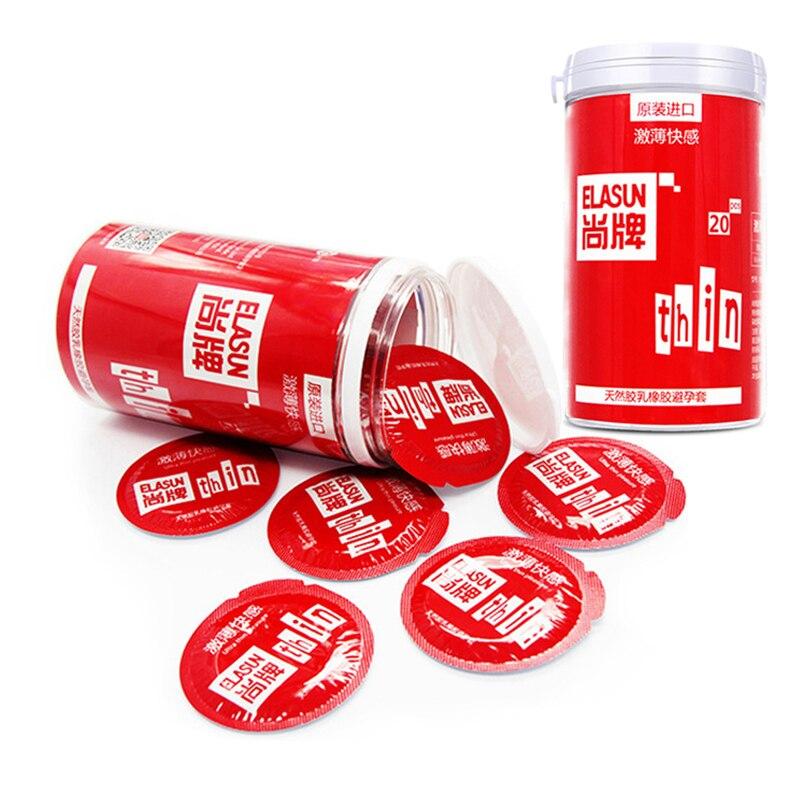 20 Stücke Natürliche Latex Dünne Kondome Für Männer Erwachsene Intime Ultra-dünne Kondome Penis Dünne Kondome Frauen Sicherer Empfängnisverhütung Sex Spielzeug Angenehme SüßE Schönheit & Gesundheit Sexprodukte
