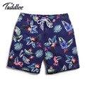 Taddlee boardwear marca hombres boxeadores trunks del activo bermudas de secado rápido hombres activo pantalones deportivos hombre del traje de baño trajes de baño pantalones de playa
