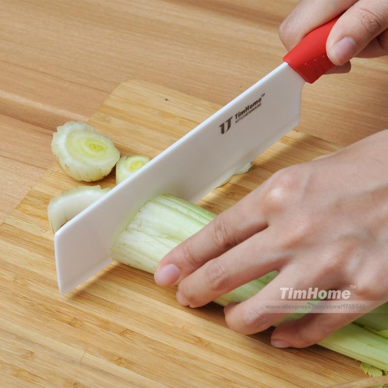 Cuchillos de cerámica de Zirconia cuchillo de cuchilla para cocina chef herramienta diferentes colores 6