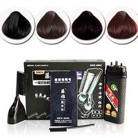 Magiczne włosy grzebień 1 zestaw do farbowania włosów New Fashion Hot Szybkie Profesjonalny Salon Fryzjerski farbowanie włosów Barwnika Kolory 4 Kolory wybrać RP1-5
