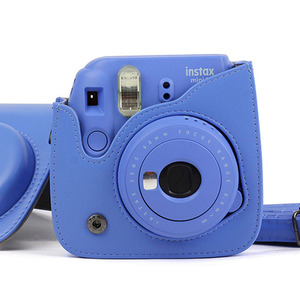 Image 5 - Carry PU Leather Bag Case Cover with Shoulder Strap For Fujifilm Instax Mini 9 Mini 8 Mini 8+ Instant Film Photo Camera