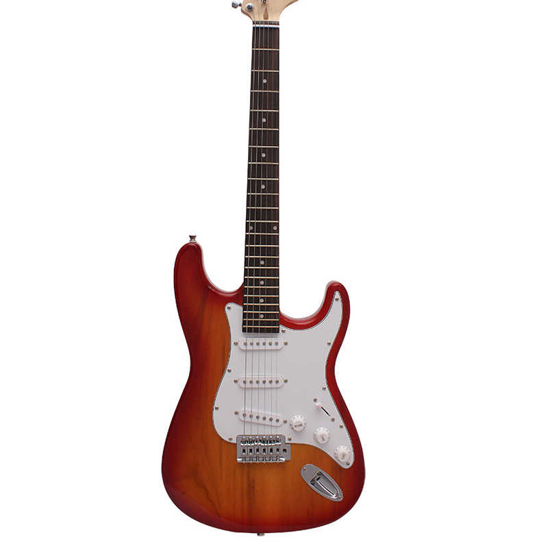 Electric ST Guitar 39 Inch 6 String Rosewood Fingerboard Musical Instruments Professional Guitar Telecaster Tele