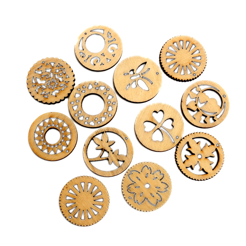 Detail Feedback Questions about 50pcs Natural Flowers Wood Craft  Embellishments MDF Wooden Cutout Flatback Scrapbooking for Cardmaking DIY  Wedding ... 818a53af4144