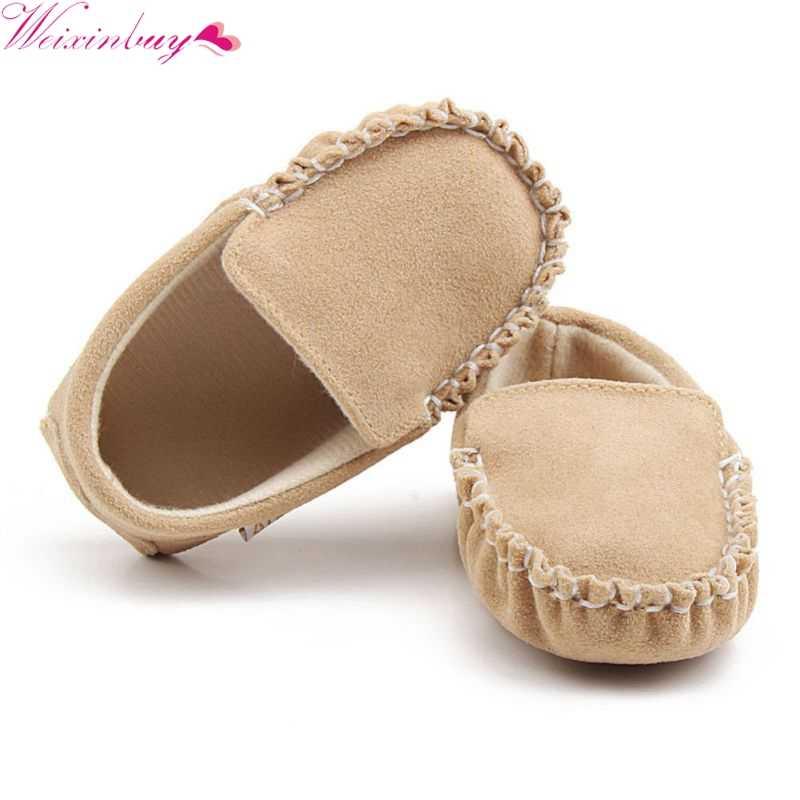 Peuter Klassieke Casual Schoenen Mooie Baby Mocassins Prinses Baby Sneakers Schoenen Baby Matte Pu Lente Herfst Schoen