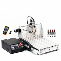 cnc cutting machine 6040Z USB 3 axis with mach3 remote control cnc router