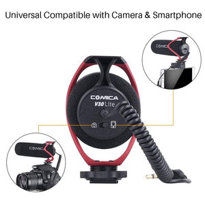 Image 2 - Comica CVM V30 LITE  Video Microphone Super Cardioid Condenser On Camera Shotgun Microphone for Nikon Canon Sony iPhone Huawei