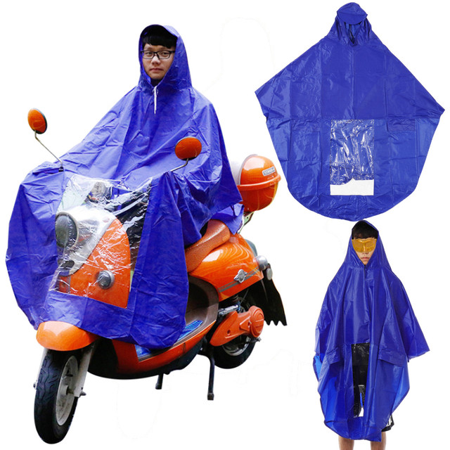 Motorcycle Rider Raincoat 1pc Waterproof Portable Motorcycle Bike Rain Coat Hooded Ponchos Eva Rain Cover Raincoat For Women Motorbike Accessories Motorcycle Accessories & Parts