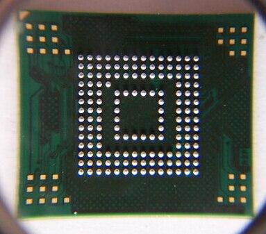 3 unids/lote eMMC memoria flash NAND con firmware para Lenovo P780