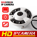 Панорамный HD Камера Multi Funtion FishEye 360 Градусов Ip-камера 3МП M3881C + AR0330 1 До 4 Видео Резки ИК 20 М 5MP 1.42 мм Объектив