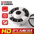Панорамный HD Камера Multi Funtion FishEye 360 Градусов Ip-камера 3МП M3881C + AR0330 1 До 4 Видео Резки ИК 20 М 5MP 1.42 мм Объектив