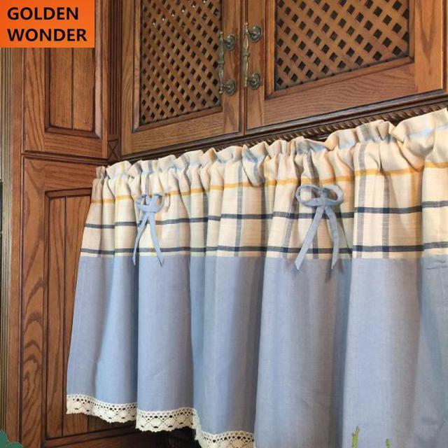 De haute Qualité Cuisine Rideau Café Rideaux Coton Décoration de La ...