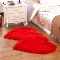 Heart carpet, romance, wedding, warmth, mildness, sweet, Green Environmental protection material, goddess of love carpet, 5color