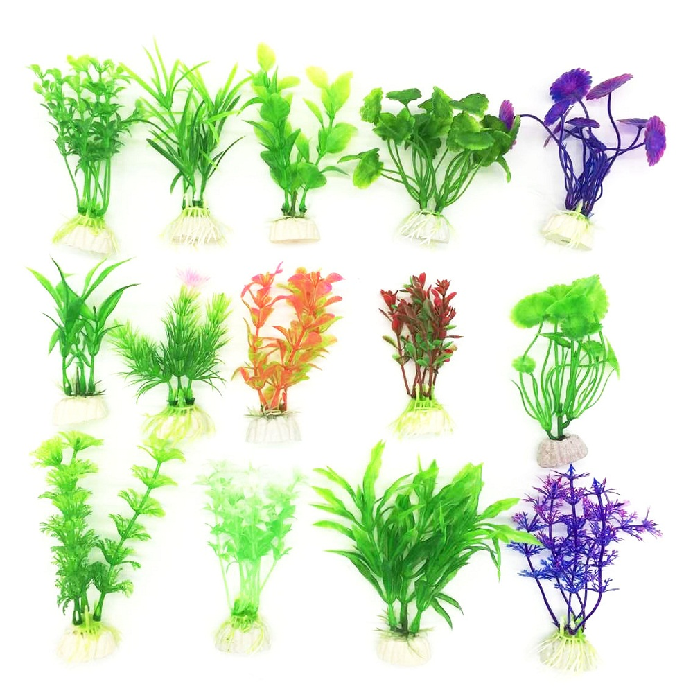 Online get cheap artificial aquatic plants for Artificial fish pond plants