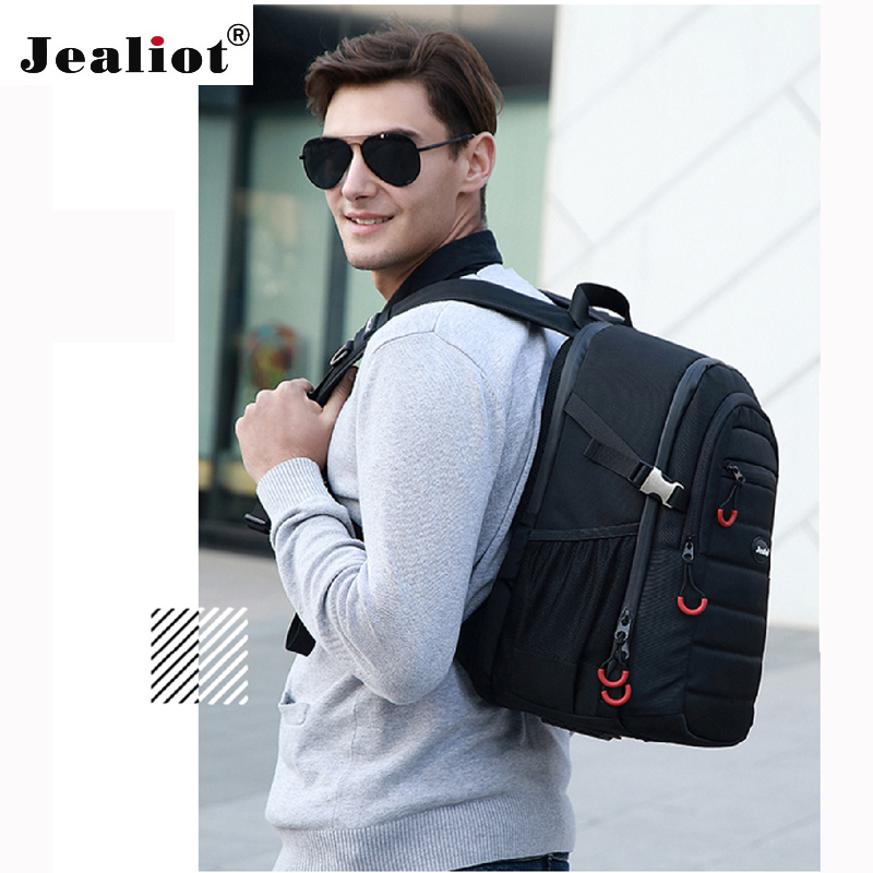 2017 Jealiot Multifunctional Professional Camera Bag laptop Backpack waterproof shockproof digital Photo case for DSLR Canon jealiot 2 in 1 multifunctional waterproof shockproof professional camera bag backpack dslr video photo bags for canon nikon sony
