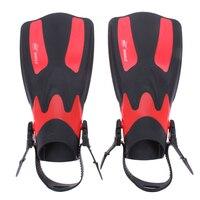 2PCS Set Adult Long Swimming Fins Webbed Diving Flippers EVA TPR Training Pool Aletas Nadadeira Men