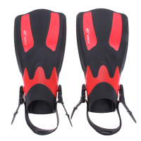 2PCS Set Adult Long Swimming Fins Webbed Diving Flippers EVA TPR Training Pool Aletas Nadadeira Men