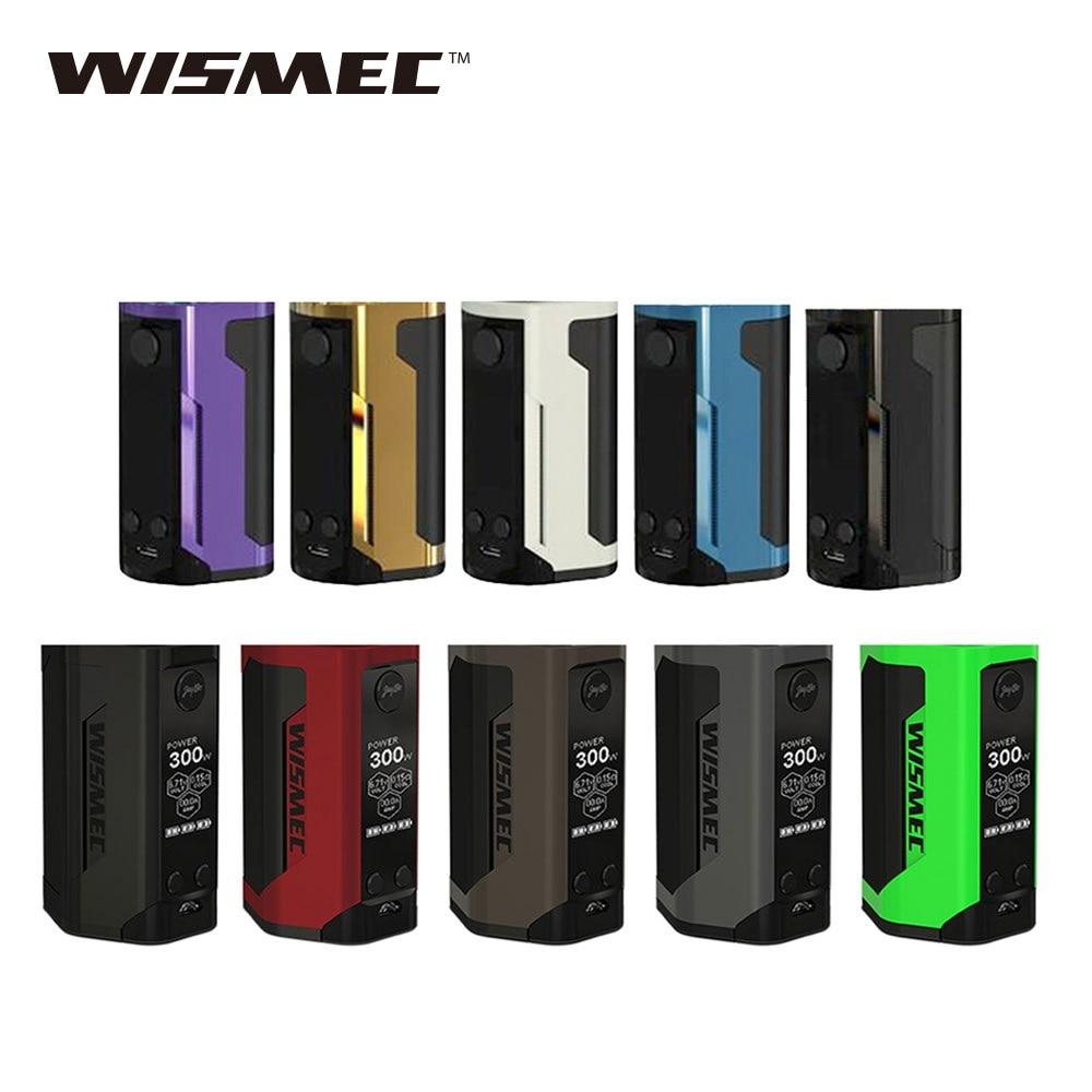 100% Original WISMEC Reuleaux RX GEN3 double 230 W TC boîte MOD Vs WISMEC Reuleaux RX GEN3 boîte Mod alimenté par 18650 batterie Vape Mod