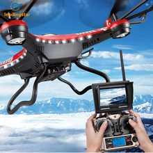 LeadingStar H8D 2 4Ghz 5 8G FPV RC Quadcopter with 2MP Camera FPV Monitor Display RTF