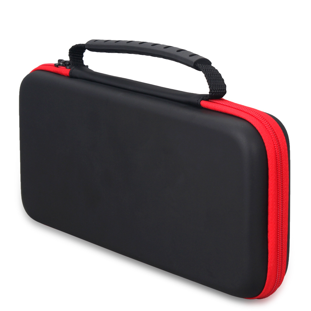 Купить с кэшбэком Nintend Switch Storage Bag Travel Carry Case Gamepad Protective Pouch Bag+Tempered Screen Protector Film For Nintendos Switch NS