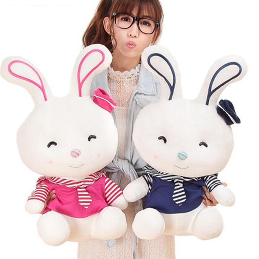 Большой плюшевый кролик игрушка для ребенка oyuncak pluche stuffe speelgoed подарки для Обувь для девочек кролик чучело Плюшевые игрушки 70c0335