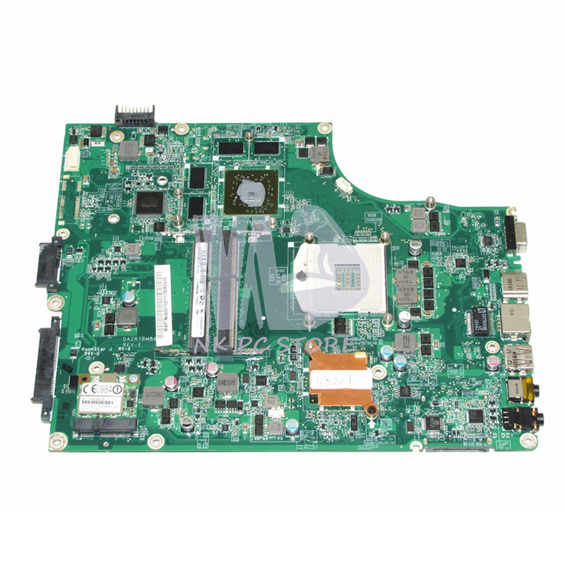 MB.PTN06.001 MBPTN06001 For <font><b>Acer</b></font> aspire 5820 <font><b>5820TG</b></font> Laptop <font><b>Motherboard</b></font> DAZR7BMB8E0 HM55 DDR3 HD5650 Discrete Graphics image