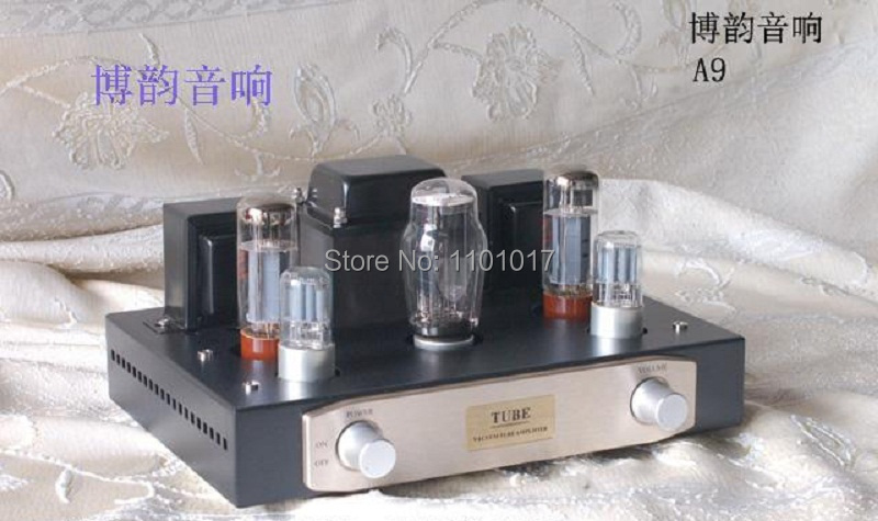 Boyuu BYA9 EL34 Tube Amp OR DIY Set HIFI EXQUIS Assembled Or Unassembled A9 Single-Ended Integraed Tube Amplifier