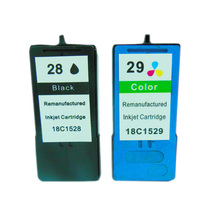 Vilaxh 2PCS For Lexmark 28 29 Ink Cartridge X5070 X5075 X5320 X5340 X5410 X5495 Printer for lexmark